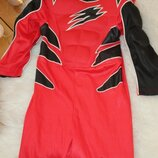 костюм power rangers могучие рейджеры для домашних игр 116 рост
