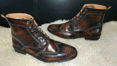 Shoes MOD ботинки борги кожа 43 р по ст 30 см кожа внутри
