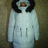 Куртка -пальто с капюшоном Еврозима PRIMARK 52-54 р