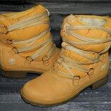 Timberland Quilted непромокаемые, невероятно теплые, стильные термо ботинки