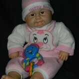 кукла пупс малыш первые зубки