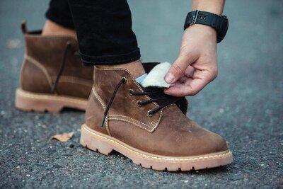 Ботинки зимние мужские South Jaston brown