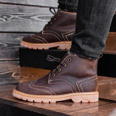 Ботинки зимние мужские South Rebel brown