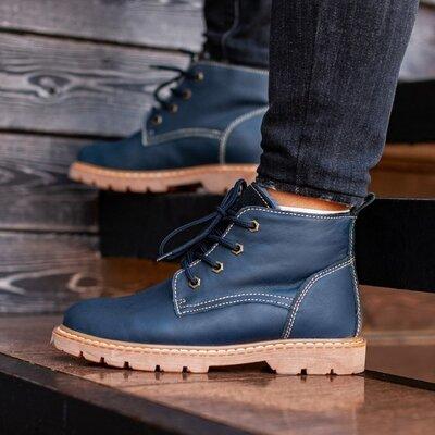 Ботинки зимние мужские South Jaston blue