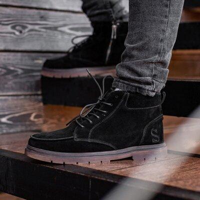Ботинки зимние мужские South Flip black