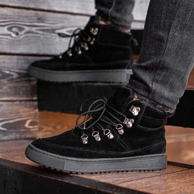 Ботинки зимние мужские South Snake black 2.0