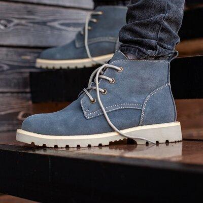 Ботинки зимние мужские South Killers blue