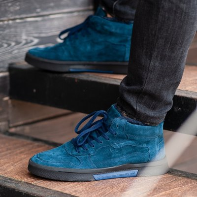 Ботинки зимние мужские South Oriole blue