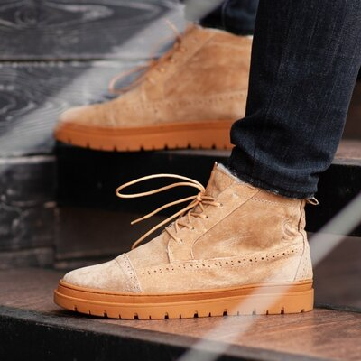 Ботинки зимние мужские South Mist brown