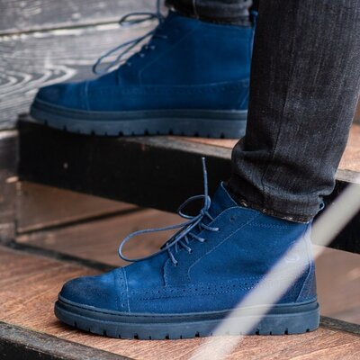 Ботинки зимние мужские South Mist blue