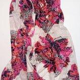 Яркий модный палантин шарф Ulla Popken