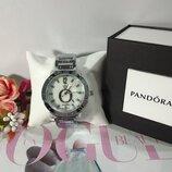 Женские наручные часы реплика Pandora, Пандора, цвет серебро