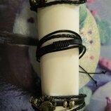 Продам браслеты фенечки кожа