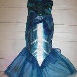 платье русалки на 11-12лет