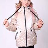 Новинка, весна 2020, демисезонная куртка для девочек 128-158 см