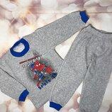 Пижама спайдермен для мальчика теплая