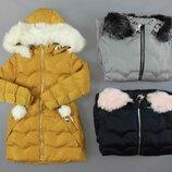 Куртка утепленная для девочек Венгрия Размеры 14