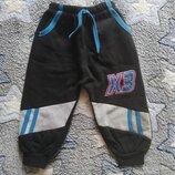 Спортивные штаны начес на мальчика 80-92 см. Турция