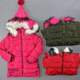 Куртка утепленная для девочек Венгрия Размеры 6,8 лет