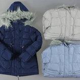 Куртка парка утепленная для девочек Венгрия Размеры 146/152