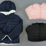 Двухстороняя куртка на меху для девочек Венгрия Размеры 8,16 лет