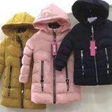 Куртка утепленная пальто для девочек Венгрия Размеры 2,4,6 лет