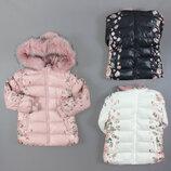Куртка утепленная для девочек Венгрия Размеры 1,2,3,4 года