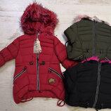 Куртка утепленная для девочек Венгрия Размеры 4 года