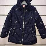 Куртка парка демисезонная для девочек Венгрия Размер 4,10,14 лет
