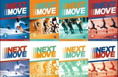 Next Move 1, 2, 3, 4. Комплект Student s Book Workbook