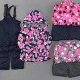 Лыжная термо Куртка и лыжные термо штаны комбинезон утепленные для девочек Венгрия Размеры 122