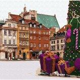 Картина по номерам Новогодняя Варшава GX33176. Классик. Картины по номерам