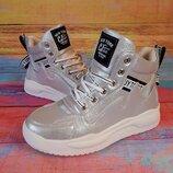Демисезонные спортивные ботинки для девочки, код 841