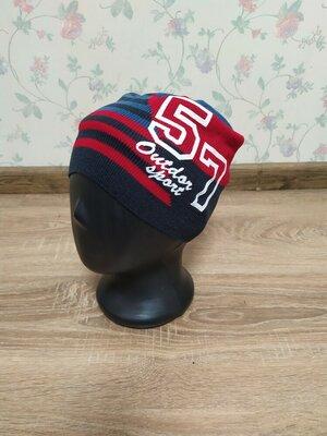 Яркие весенние шапки для мальчиков 50/54 размер