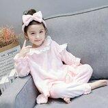 Модная пижама с повязкой р. 90-130