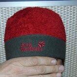 Стильная зимняя шапочка шапка .унисекс Jack Wolfskin.с-м-л