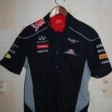 Рубашка футболка - поло pepe jeans red bull racing formula one team ,оригинал, на 52 - р-р