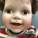 Коллекционная Большая фарфоровая куколка пупс ребенок реборн игрушка кукла фарфор