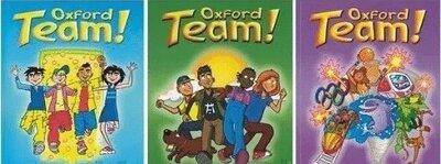 Oxford Team 1, 2, 3. Комплект Student s Book Workbook.