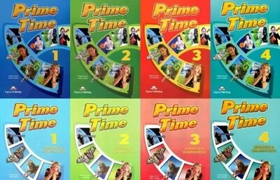 Prime Time 1, 2, 3, 4. Students book. Workbook. Grammar book.
