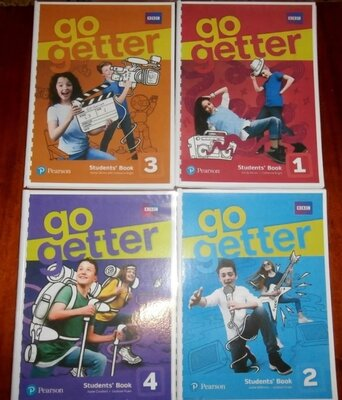 Go Getter 1, 2, 3, 4. Student s Book Workbook, Teachers Book, Tests
