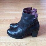 Кожаные ботинки Brako Испания 39 размера в идеальном состоянии