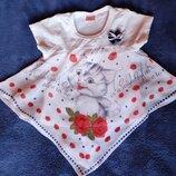Туника, блузка, футболка, футболочка, кофточка Toontoy