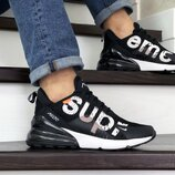 Мужские кроссовки Nike Air Max 270 Supreme black/white