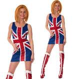 Карнавал Платье «Spice Girls» Джери Холлиуэлл.