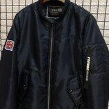 Куртка мужская темно-синяя весна-осень
