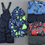 Лыжная термо куртка и лыжные термо штаны комбинезон для мальчиков Венгрия Размеры 4-6-8-10-12 лет.