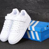 Мужские кроссовки Adidas Forum. White.