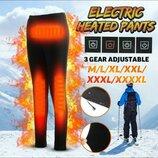 Термо спортивные брюки штаны с подогревом USB Power Bank Smart лыжные