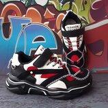 Стильные легкие кроссовки, код 835